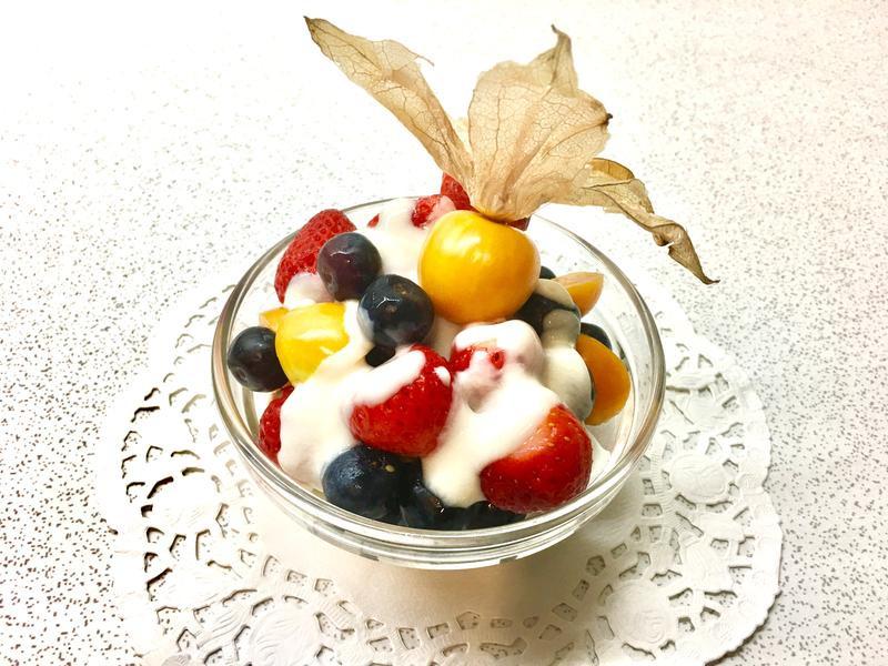 繽紛水果撈🍓🥗🍒
