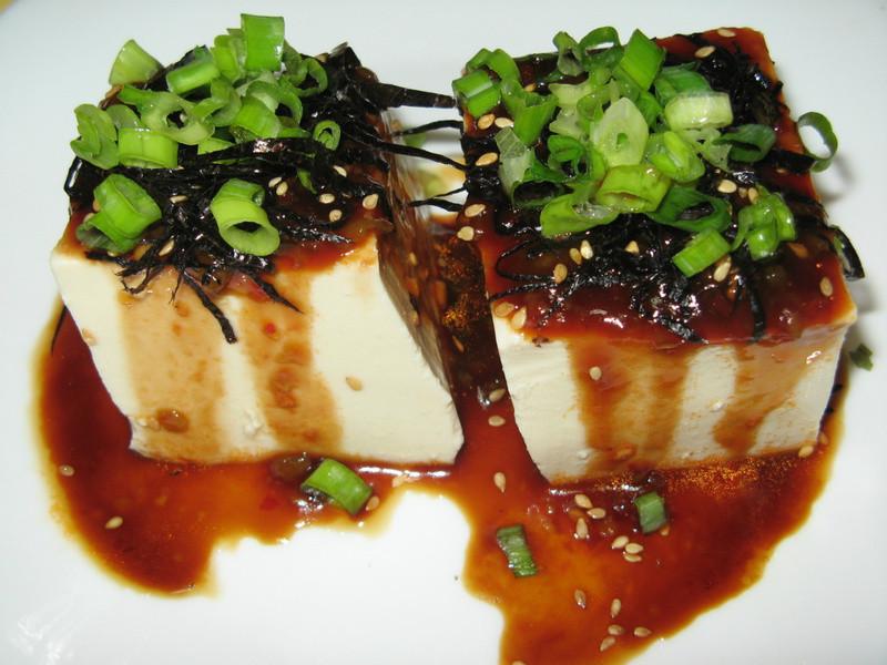 梅醬拌冷豆腐