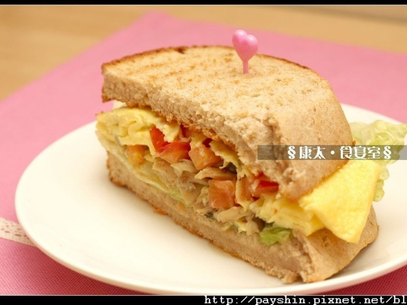 「好菇道菇idea」滑蛋好菇三明治