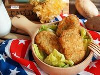 美國馬鈴薯-香料薯泥蝦餅