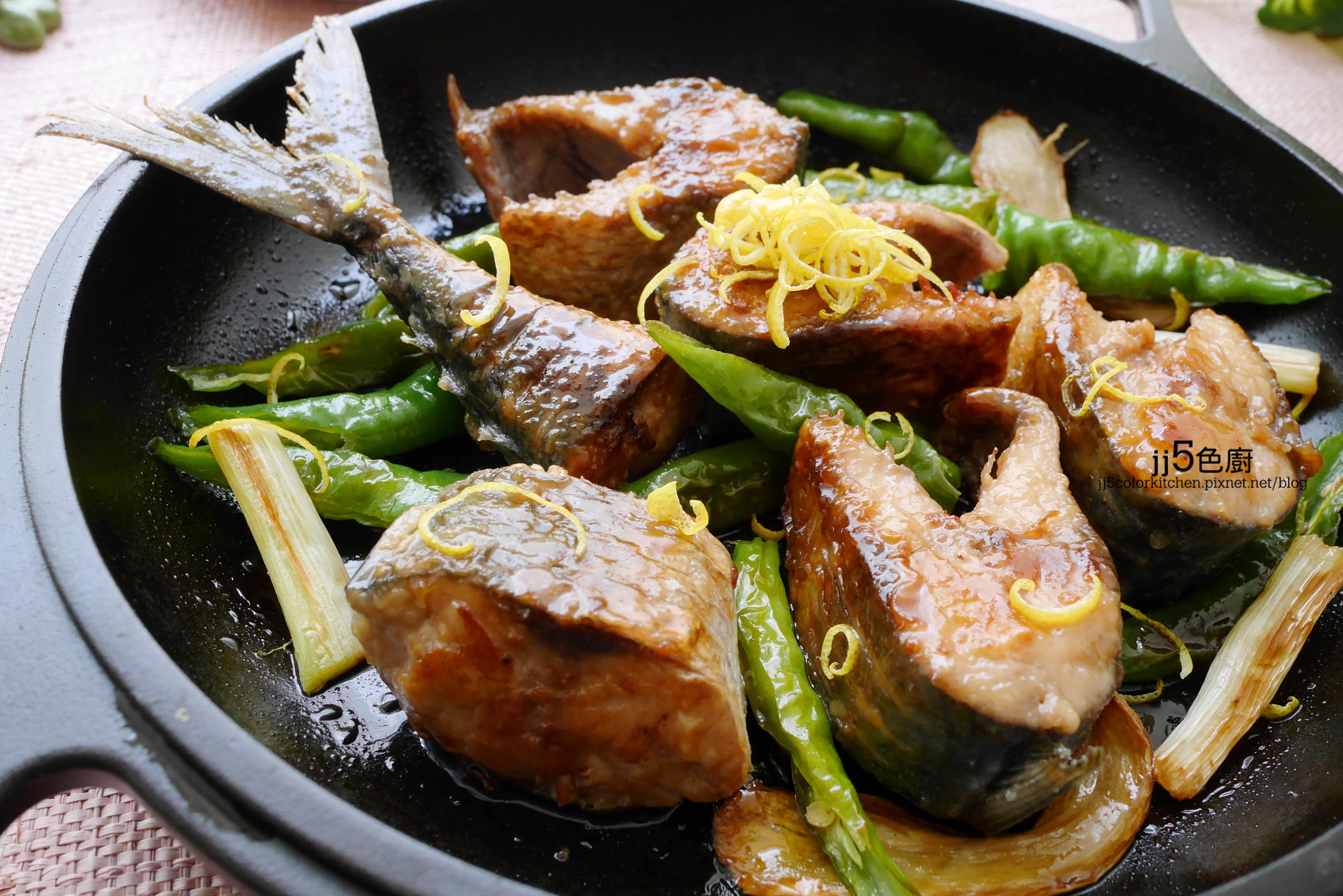檸香紅燒鯖魚【銅板補腦料理】