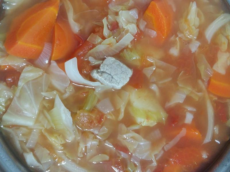 雜菜湯(低卡路里,減肥必學,高營養)