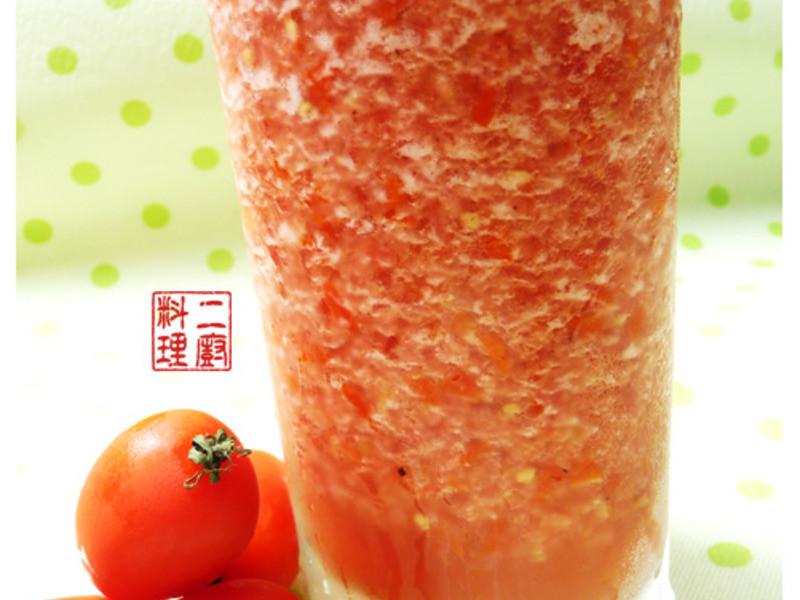 《二廚料理飲料》蕃茄蜜凍飲