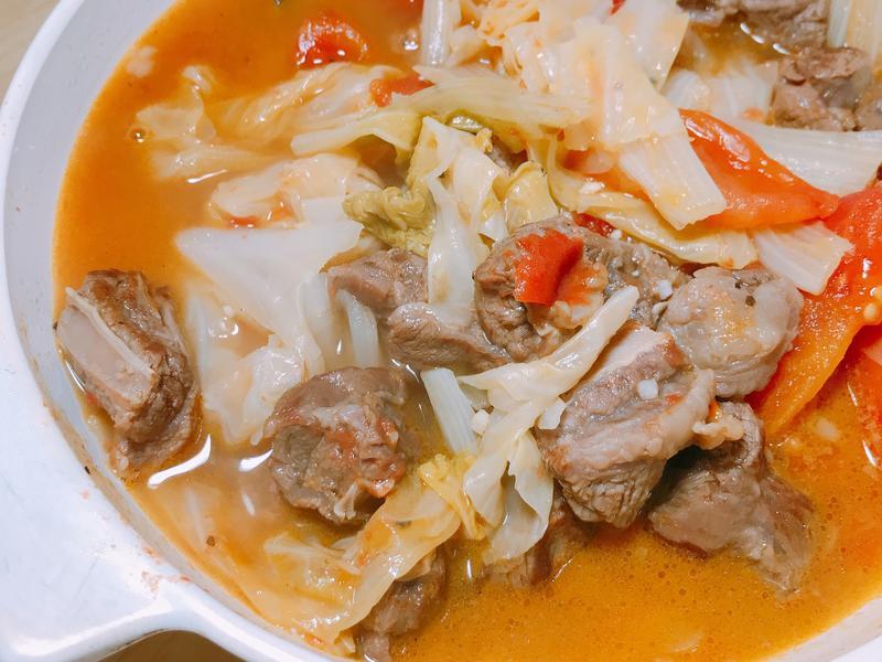 低卡營養「牛肋條番茄蔬菜湯」