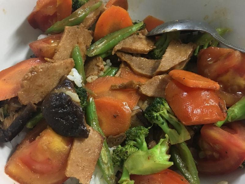 熱炒五行蔬菜