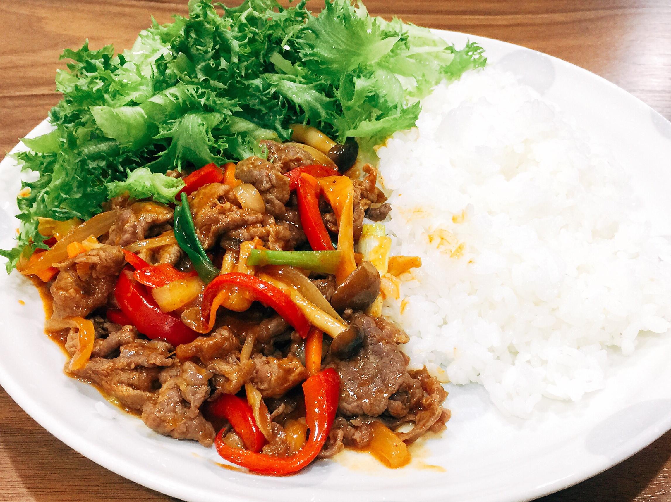 韓式燒肉飯