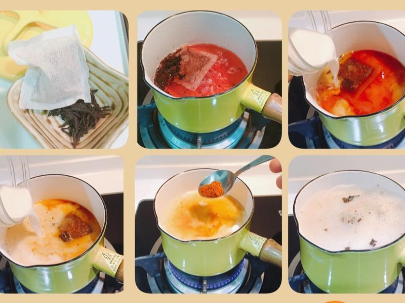 「DANSK」首開-黑糖鍋煮奶茶☕️