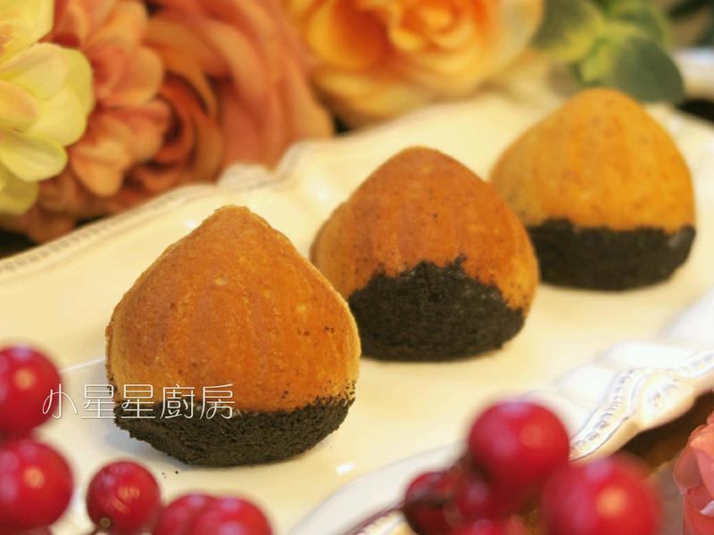栗子造型小蛋糕