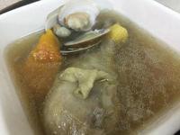 洋蔥蛤蜊雞湯