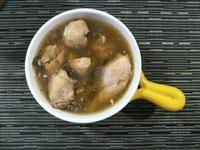 加料的剝皮辣椒雞湯(加貢丸或虱目魚丸)
