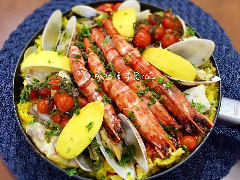 西班牙海鮮鍋飯(Paella)