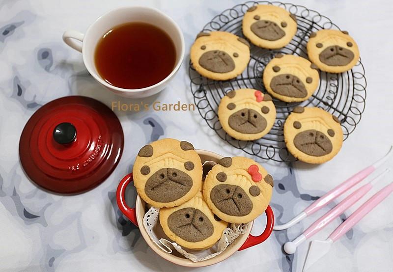巴哥犬造型餅乾✿免模型、免泡打粉