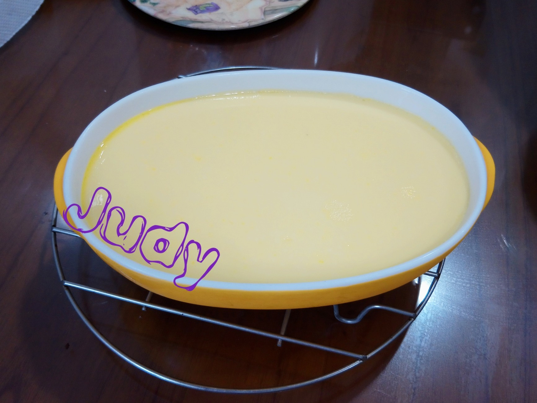 雞蛋布丁[免烤]