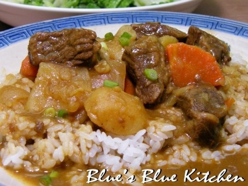 布家咖哩牛肉飯(30分鐘快易版)