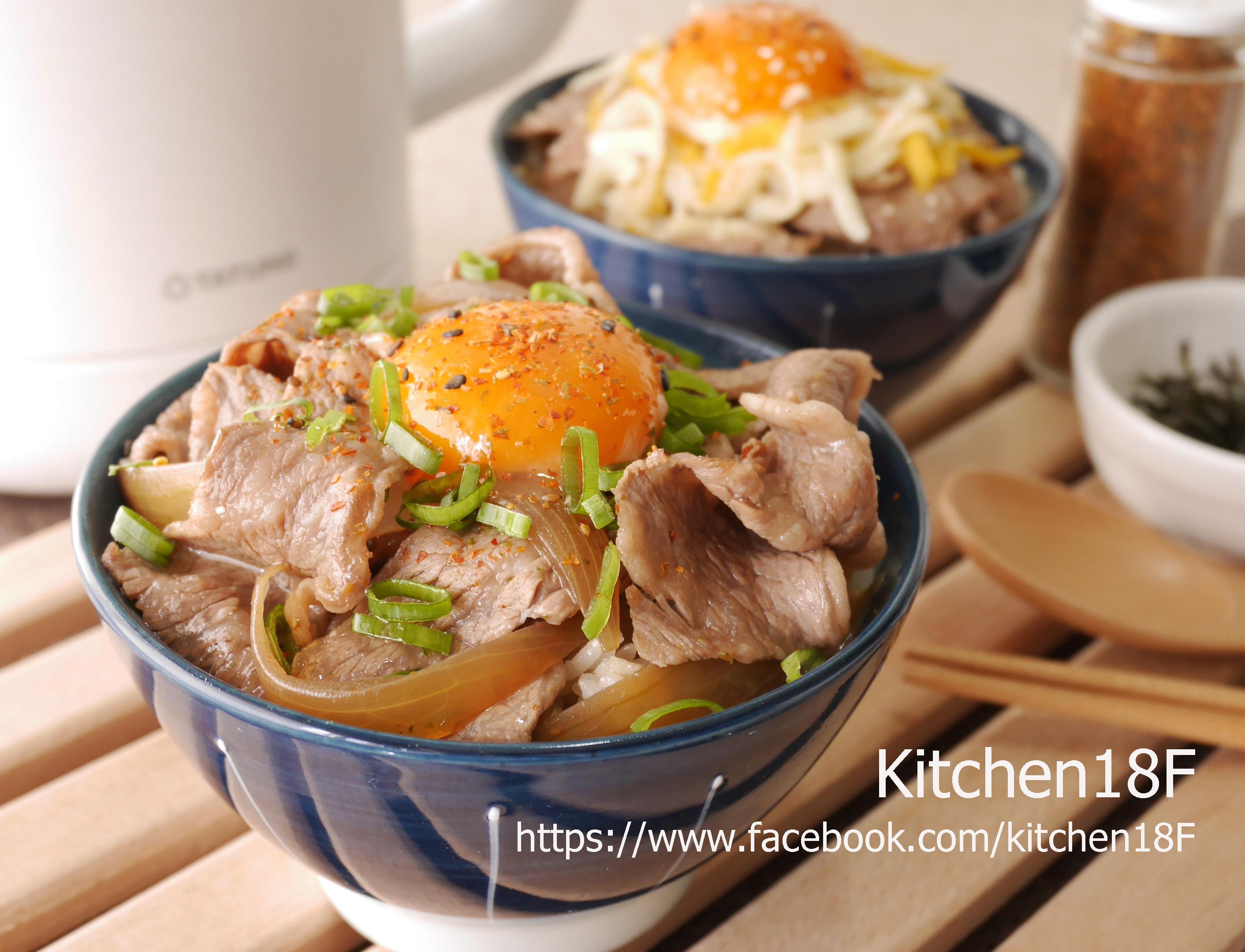 日式牛丼_零廚藝15分鐘