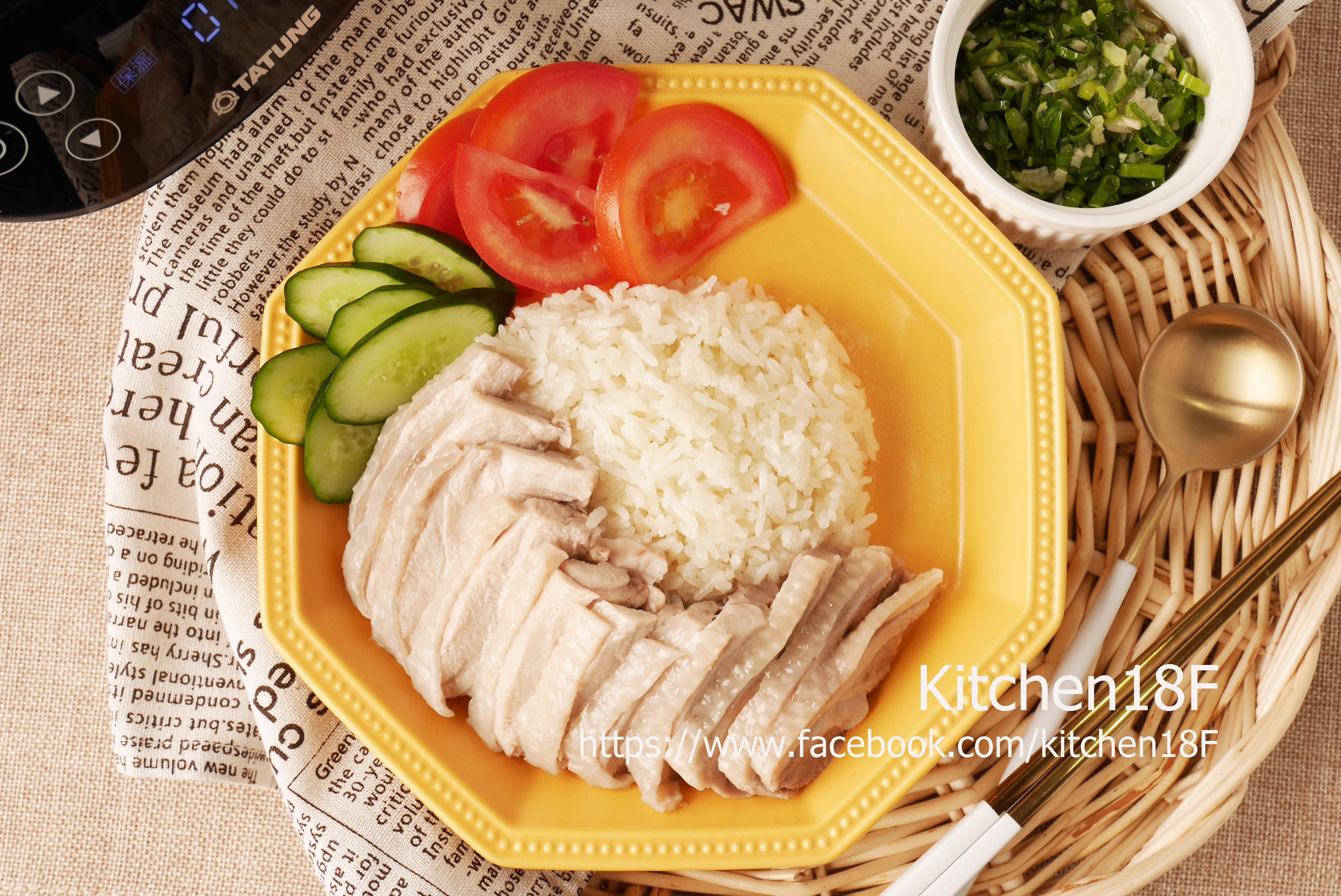 蔥油雞飯_電子鍋料理