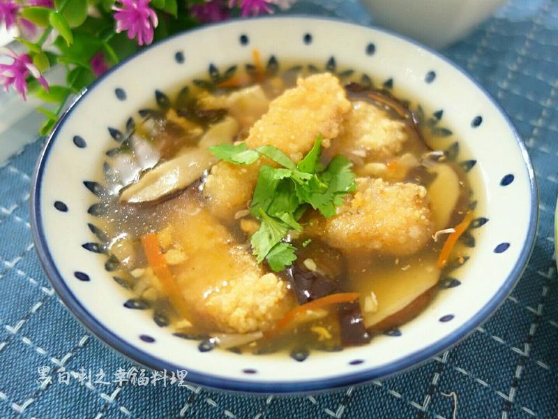 魚酥香菇羹