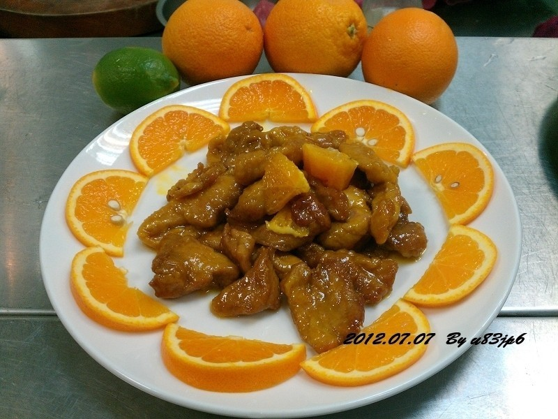 橙汁醬里肌