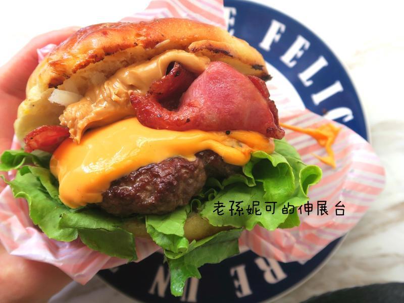 美式漢堡 手打漢堡排