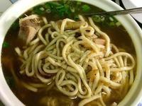 電子鍋料理-雙蔥雞湯麵(油蔥、青蔥)