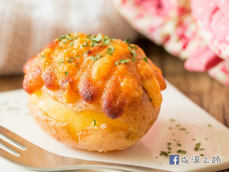 【影片】明太子烤馬鈴薯