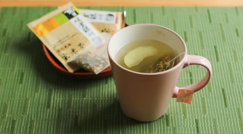 蘋果玄米茶