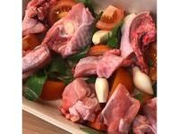 番茄羅勒(九層塔)烤腿肉