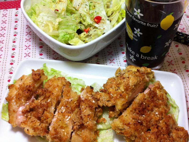 15分鐘上菜-雞排&和風沙拉