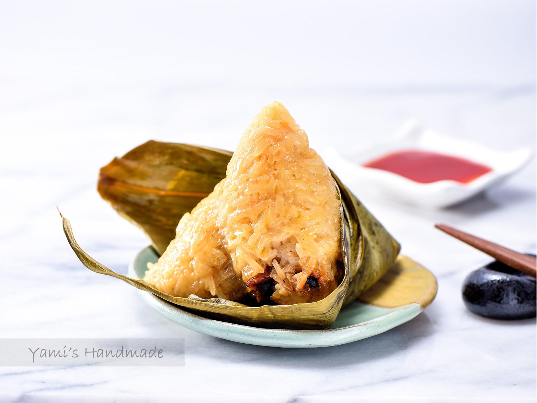 古早味粽子【超詳細步驟】(蛋黃栗子肉粽)