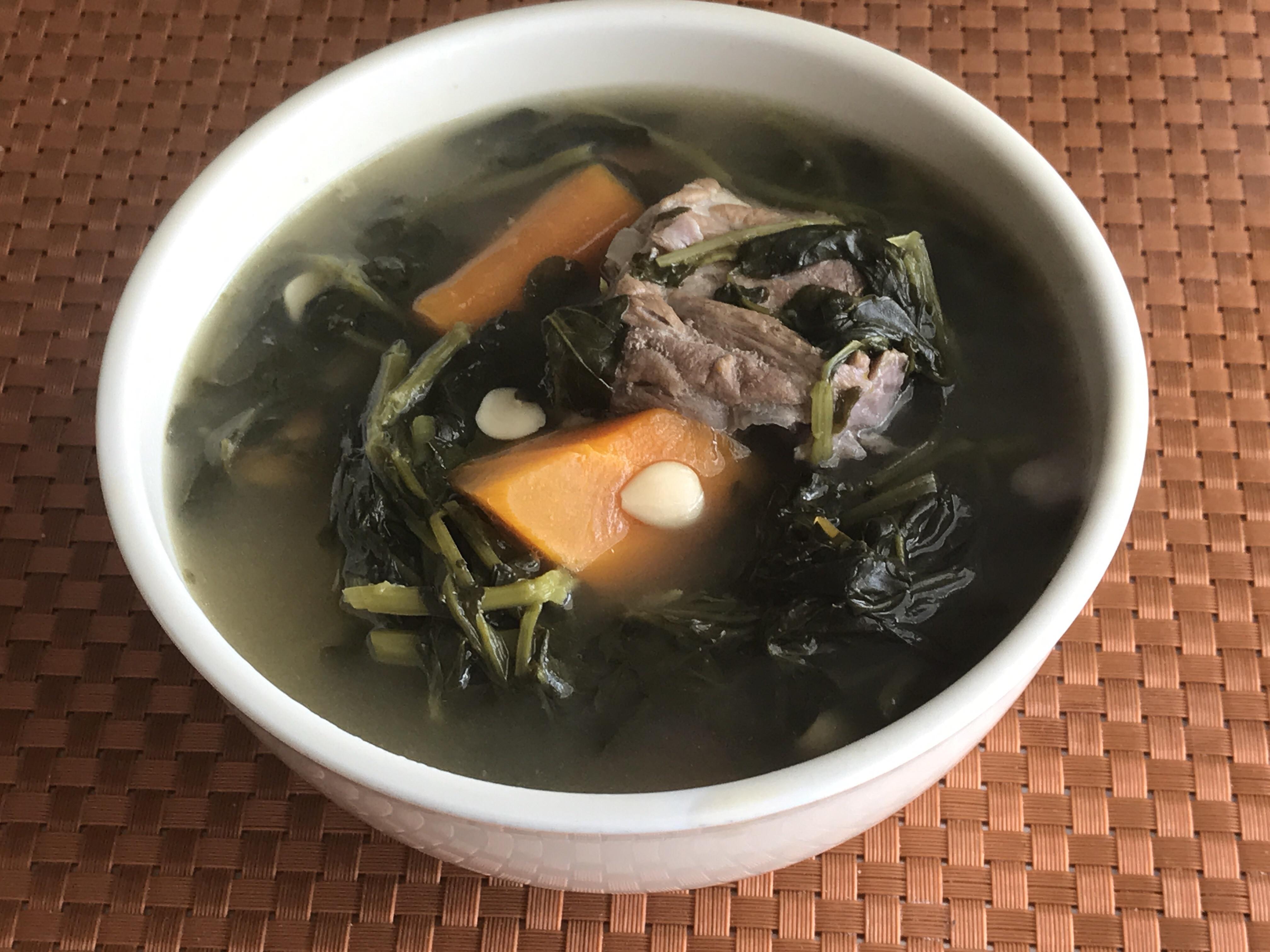 西洋菜排骨湯