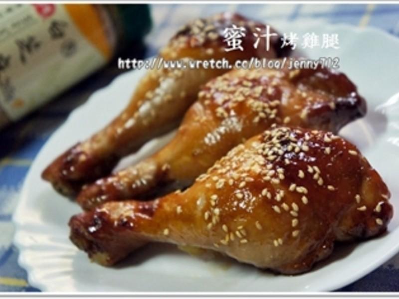 蜜汁烤雞腿