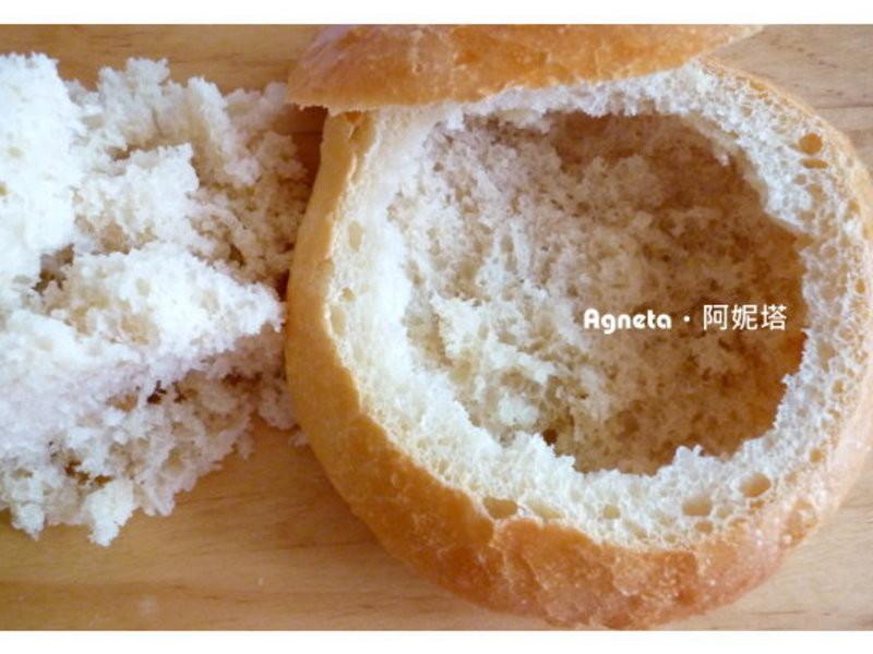 [阿妮塔♥Bread] 裝湯麵包碗。Bread Bowl