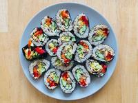 韓式紫菜包飯捲