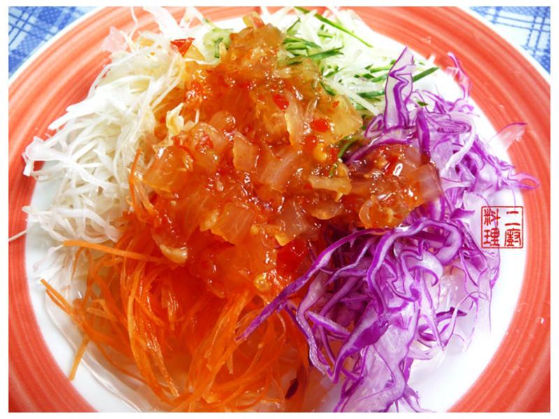 《二廚料理低GI》寒天蔬菜沙拉 (約15.9大卡)