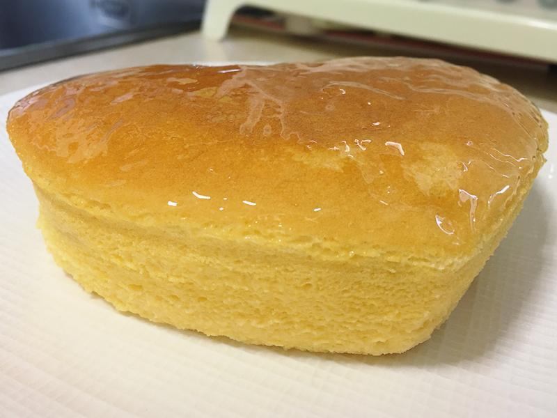 橙香輕乳酪蛋糕(起士片)