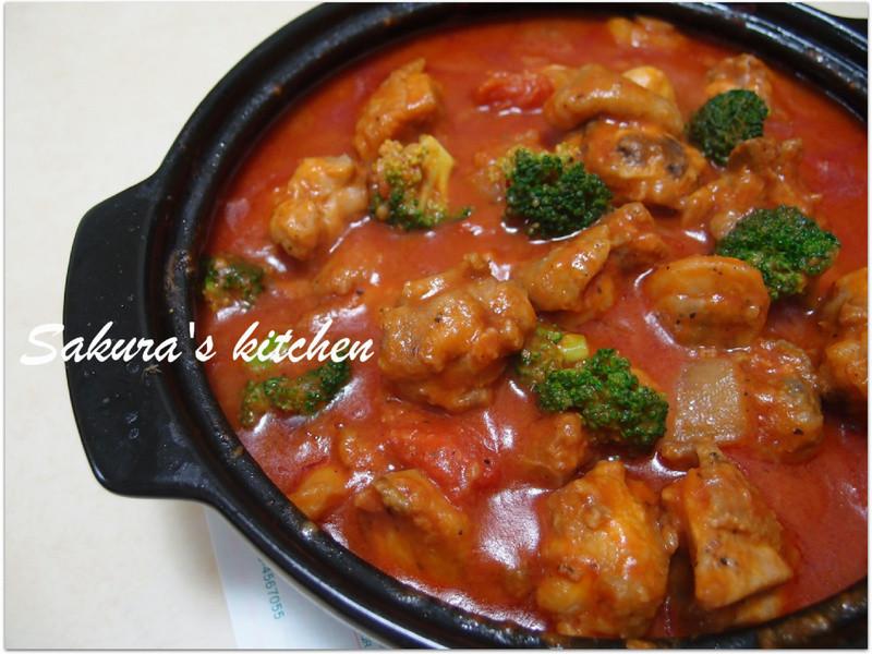 ♥我的手作料理♥鮮茄燒雞