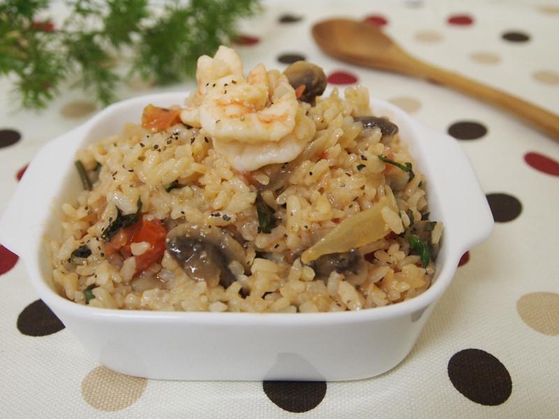 【七夕幸福料理】鮮蝦燉飯