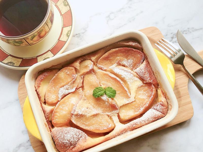 法式蘋果克拉芙緹-手繪食譜