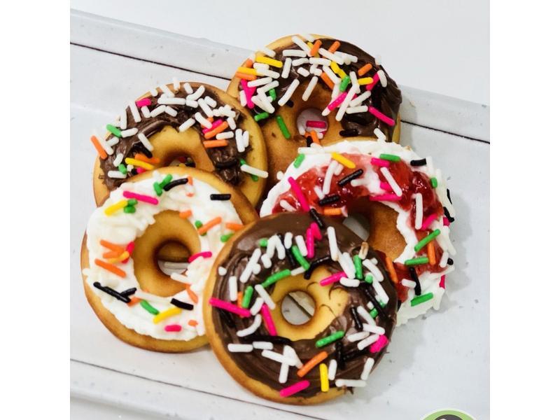 優格脆皮甜甜圈