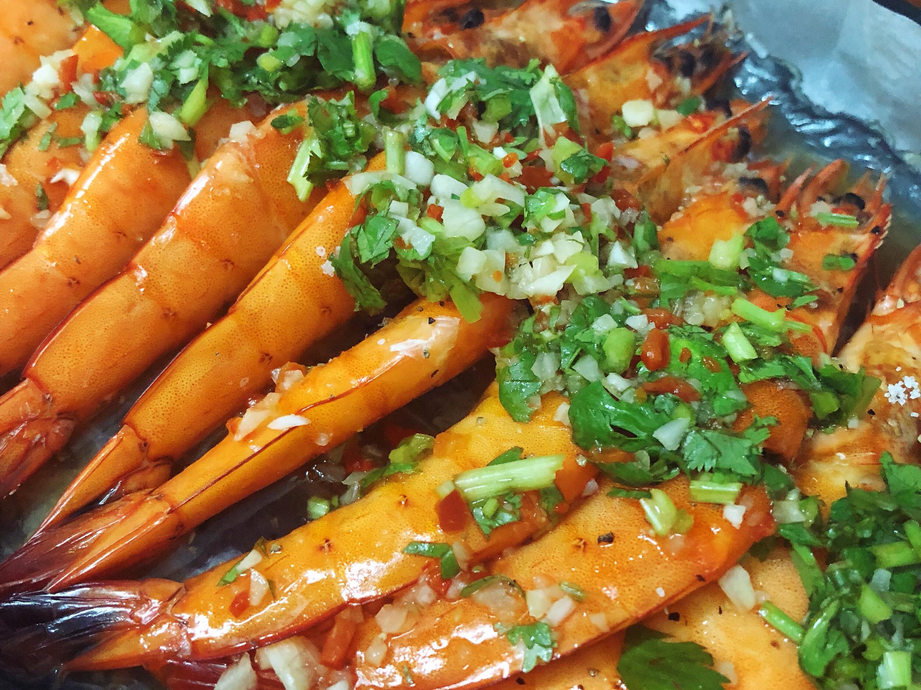 泰式檸檬蝦(無魚露版)