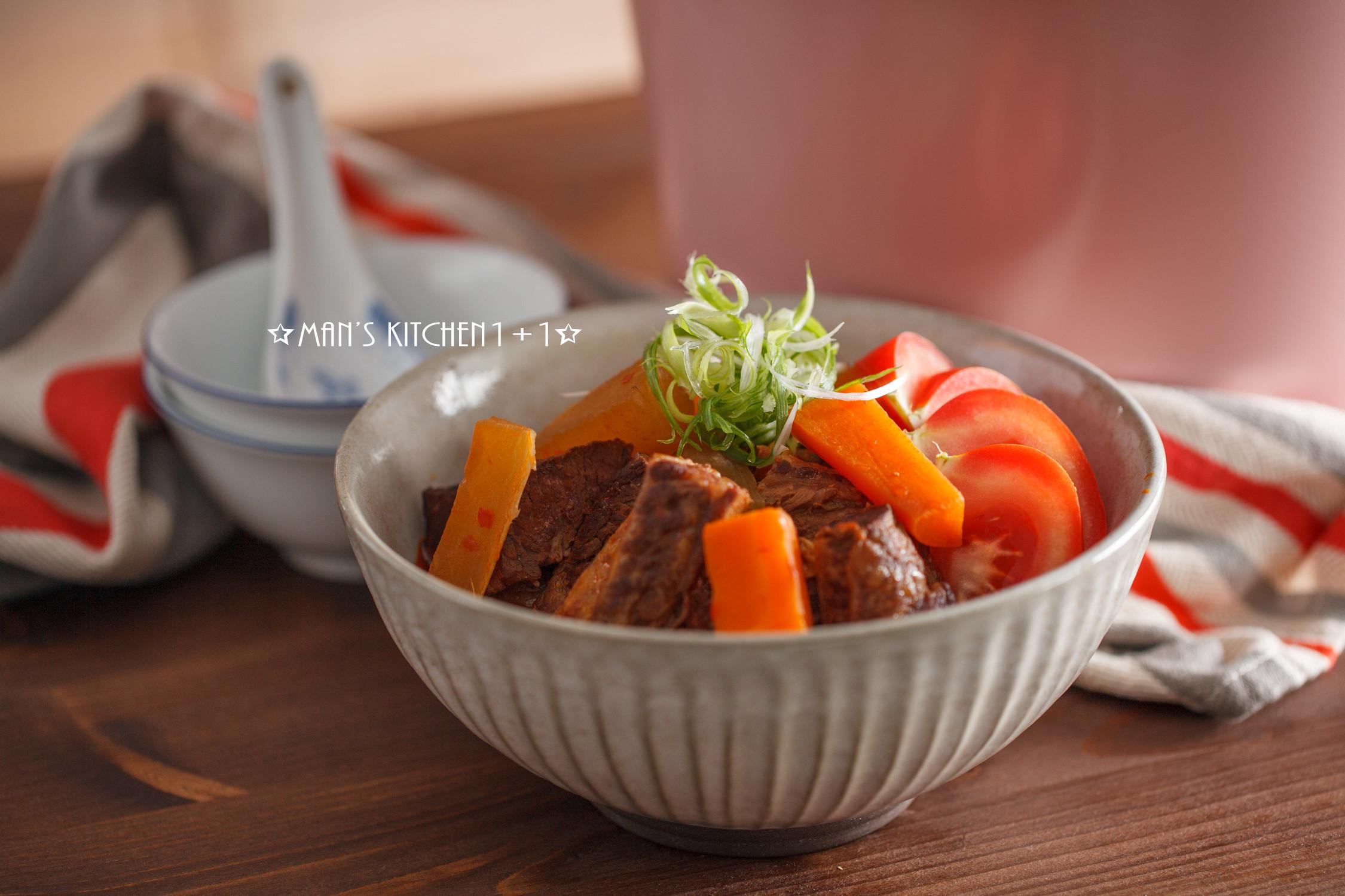 番茄牛肉湯 (影音食譜)