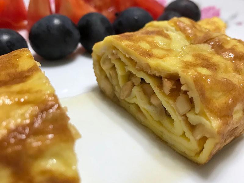 蜂蜜腰果雞蛋捲《減重也可以吃很好-早餐》