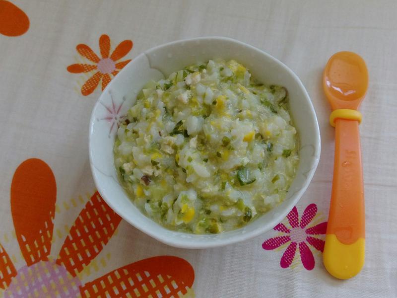 雞蓉玉米粥(寶寶粥)