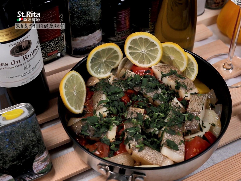 地中海蔬菜燉魚