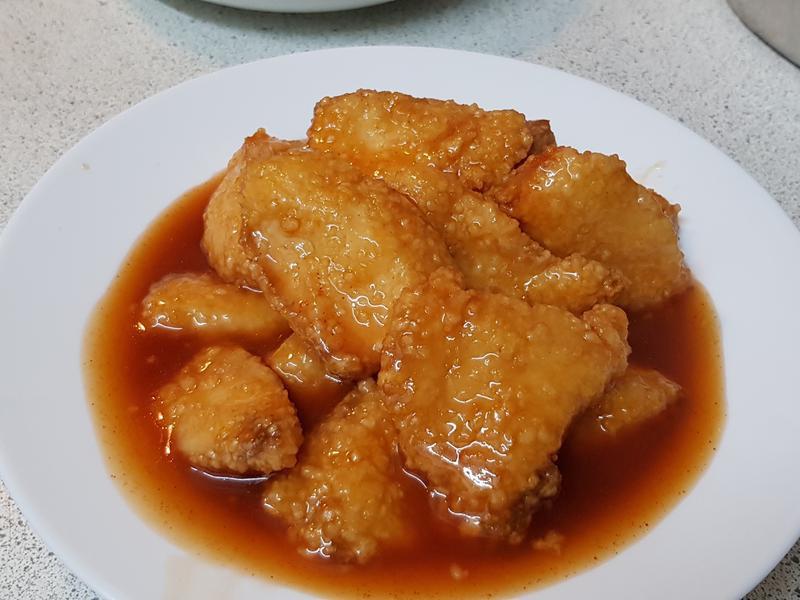 costco鯛魚糖醋魚片