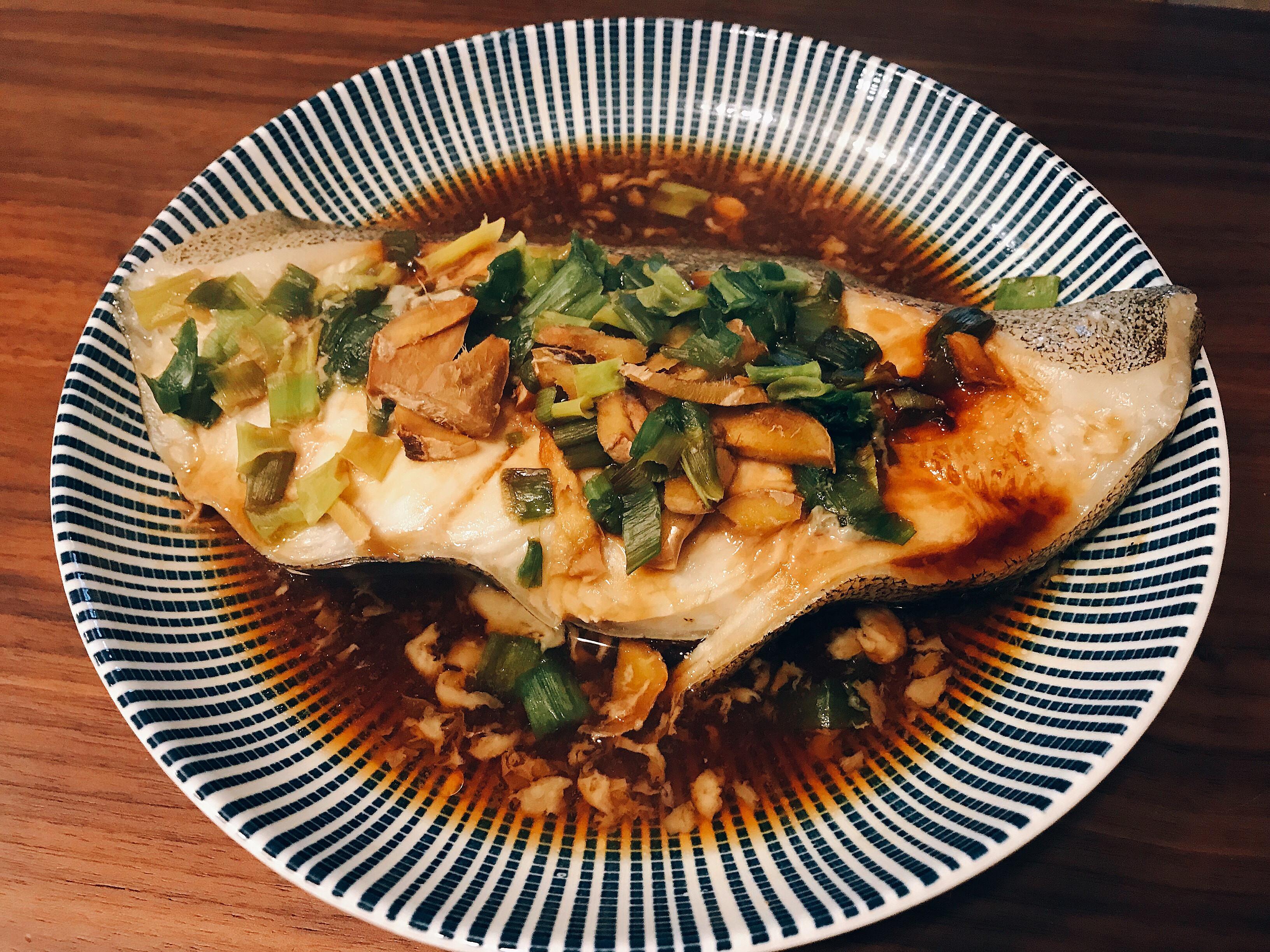 清蒸鱈魚 (簡單懶人版)