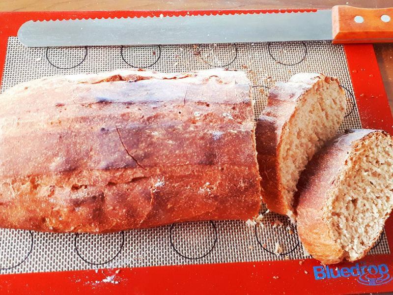 免揉全麥麵包