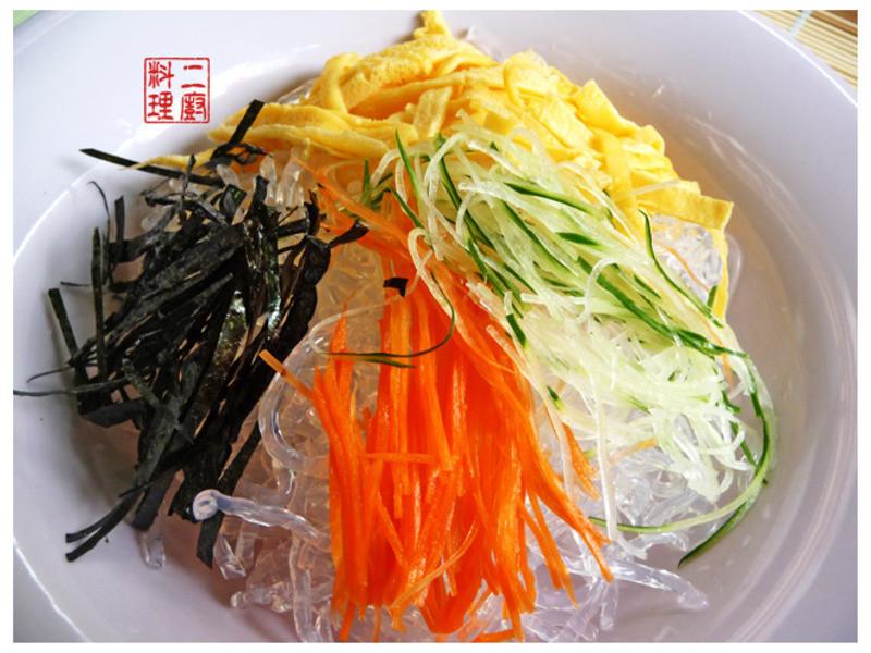 《二廚料理低GI》寒天脆藻涼麵(62.28大卡)