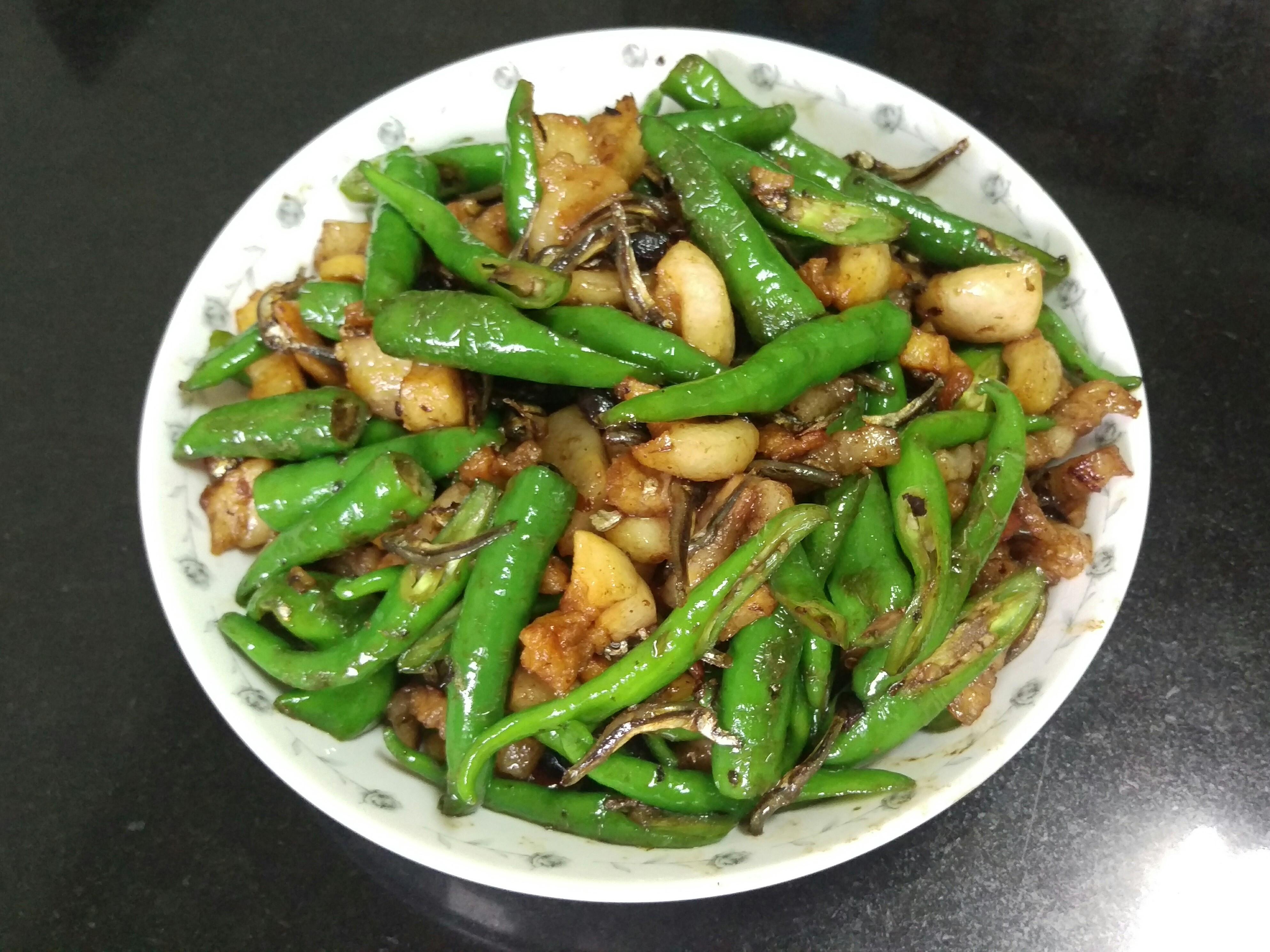 豆鼓魚乾糯米椒