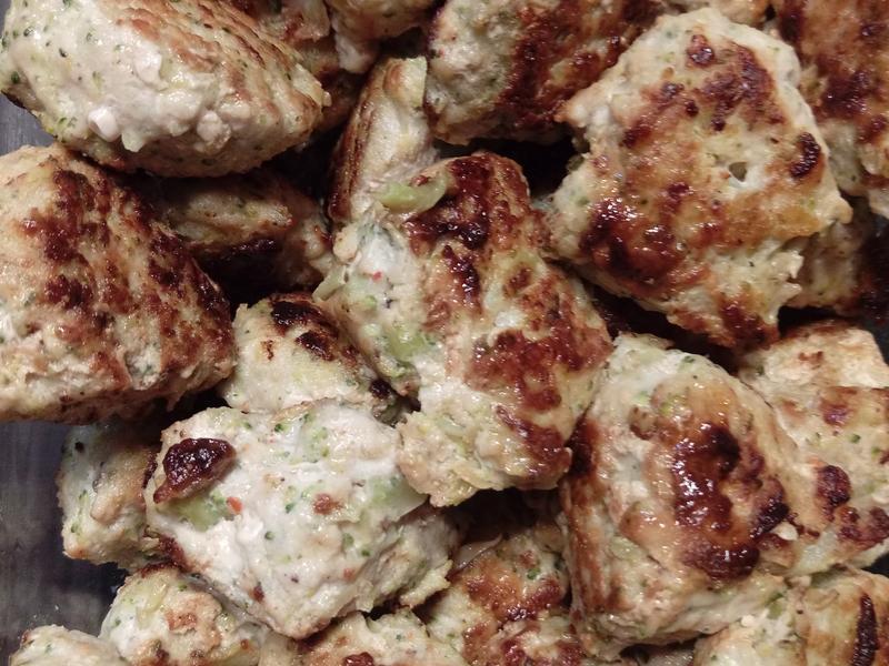 花椰菜肉丸